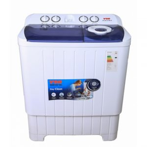 Von Twin Tub Washing Machine - White - 7Kg