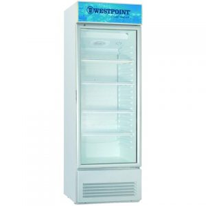 Westpoint Vertical Cooler, 198L - White+Grey
